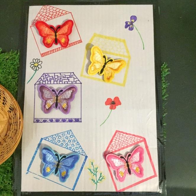 Maisons au papillons, diy,